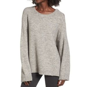 SALE** Leith Oversized Snap Shoulder Sweater